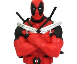 Deadpool Bust Bank – Who better to watch over your cash than Deadpool?