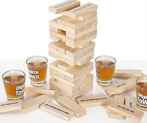 Drunken Tower Game – Pretty much just Jenga with shots