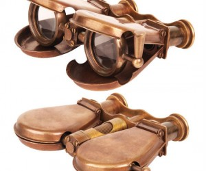 Steampunk Binoculars – (Not really powered by steam but still very cool)