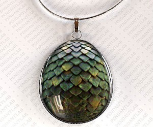 Game of Thrones Green Dragon Egg Pendant – Who knows with a little tlc it just might hatch.