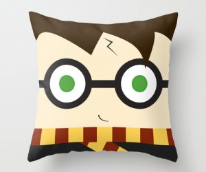 Harry Potter Plush Pillow – Cuddle up next to the cutest little Harry Potter pillow ever!