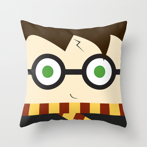 harry potter plush pillow