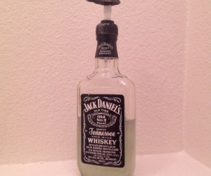 Jack Daniel's Soap Dispenser – Probably the coolest soap dispenser I've ever seen!