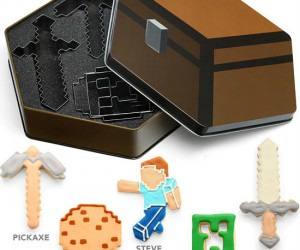 In the world of Minecraft, nothing is round, and that includes cookies!
