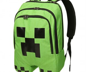 Minecraft Backpack – Let the Creeper carry your trapper keeper!