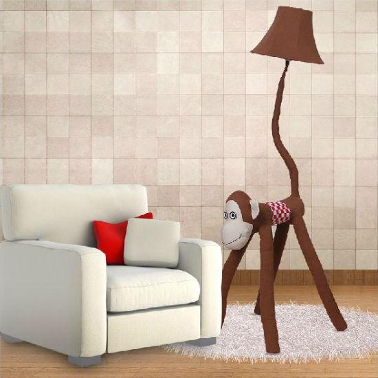 monkey floor lamp
