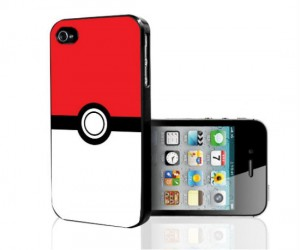 Turn your phone into a pokeball with the pokemon pokeball iPhone case!