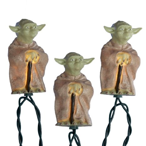 star wars yoda light set