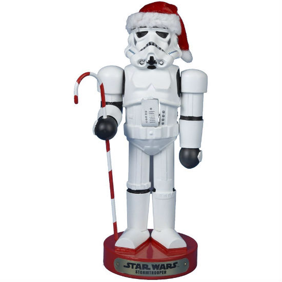 storm trooper nut cracker