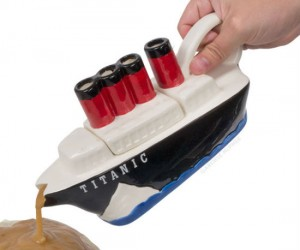 Titanic Gravy Boat – Just keep your dinner table clear of any icebergs!