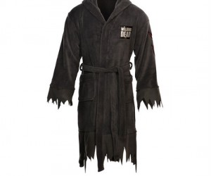 The Walking Dead Bathrobe – Sometimes it's nice to relax after a long day of zombie killing.