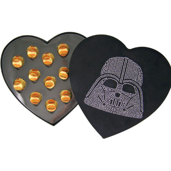 Darth Vader Heart shaped box of chocolates