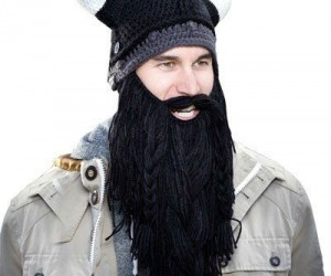 Barbarian Beard Head Beanie – A true barbarian keeps his head and face warm whilst pillaging.