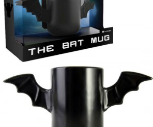 The Bat Mug - This is the mug that every kitchen NEEDS, but not the mug that every kitchen DESERVES.