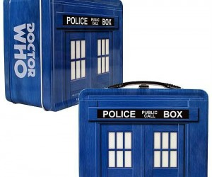 Doctor Who Tin TARDIS Lunch Box – Dine like the Doctor!