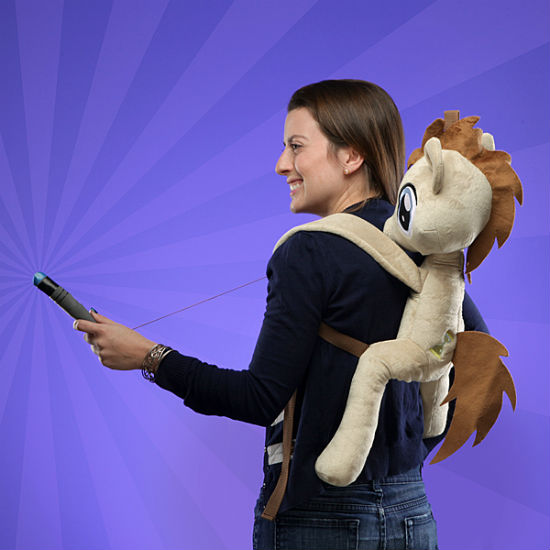 dr hooves plush backpack