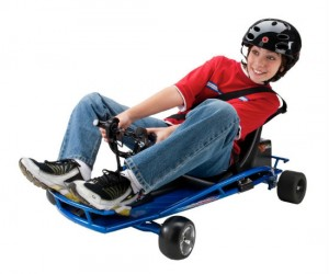 Razor Electric Drifter Kart – With this your kids will be drifting Fast and Furious style in no time!
