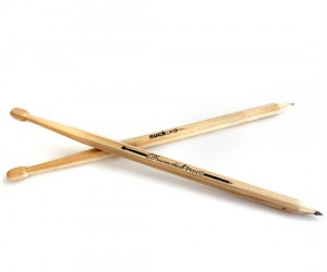 Because you were already drumming with your pencils anyways