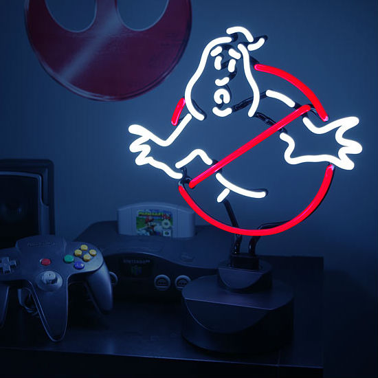 Ghostbusters Neon Lamp Shut Up And Take My Money