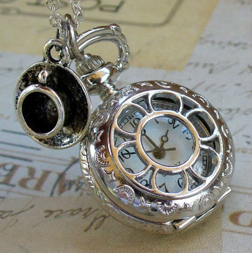 steampunk pocket watch