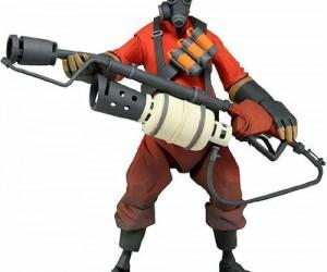 Team Fortress Pyro Action Figure -Mph. Mmmph mm mph mum, muph mmph mm. Mmph Mm. Mrph mm mph Mph mm mph. Mm mmph.