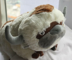 Avatar Appa Plush – Unfortunately this one doesn't fly but he's just as cute and cuddly