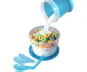 Late for work but still want your fruit loops in the morning? Problem solved!