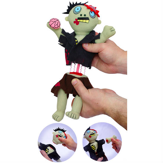 dismember me plush zombie
