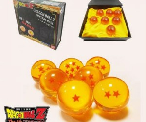 "Dragon Ball Z 7 Piece Dragon Ball Set  - Now there""s no need to fly all over Namek looking for them."