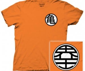 DragonBall Z Kame Symbol Tee – After wearing this your power level might reach OVER 9000!