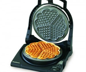 Heart Shaped Waffle Maker – Perfect for Valentine's Day breakfast in bed!