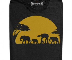 African Imperial Walker Tee – Little known fact the Imperial Walker actually descends from the African elephant
