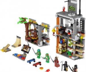 Cowabunga dude! Have hours of lego fun with Leonardo, Donatello, Raphael, Michelangelo, and the rest of the gang.