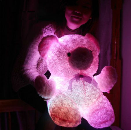 Teddy that lights up