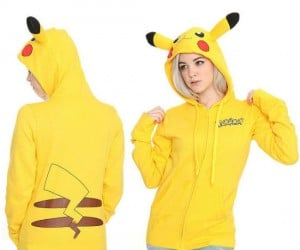 Pokemon Pikachu Hoodie – I choose you, Pikachu, to keep me warm and toasty!
