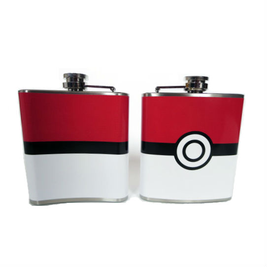 pokeball flask