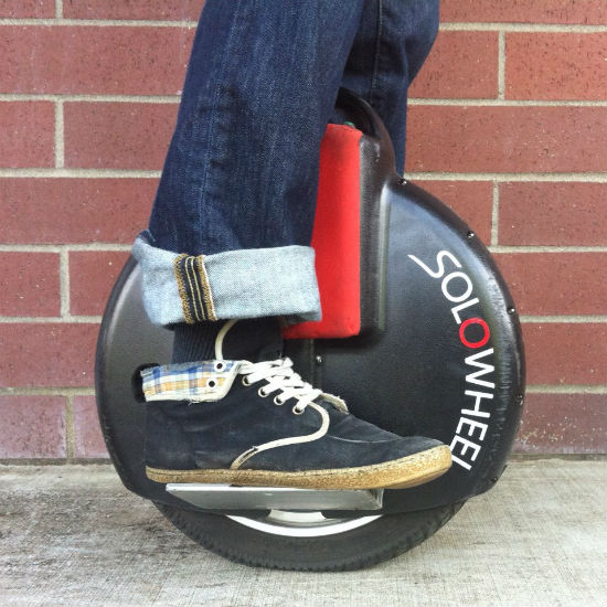 solowheel electric unicycle