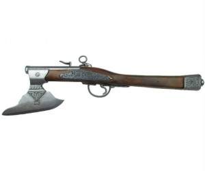 Even if it doesn't fire, the axe still makes a great line of defense against zombies!