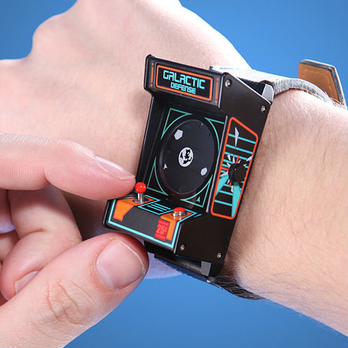 Retro Arcade Cabinet Watch