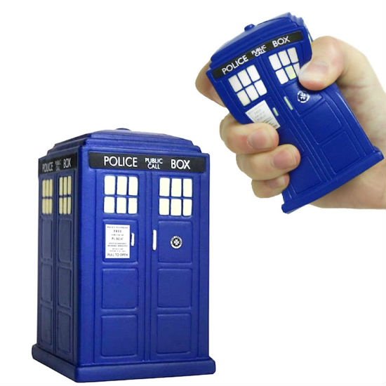 TARDIS stress ball