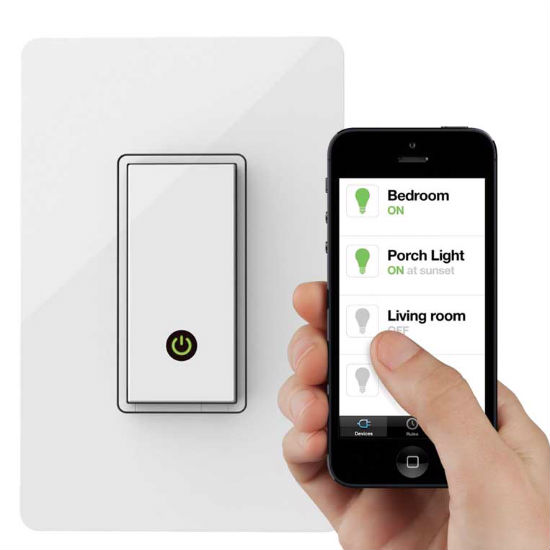 Wi-Fi enebled light switch