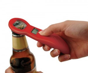 Counting Bottle Opener – So now you can finally keep track of how many beer you've consumed throughout the night.