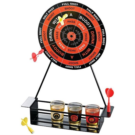 Drinking darts game shut up and take my money for Food bar drinking game