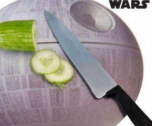 Death Star Cutting Board – That's no moon. It's a cutting board.