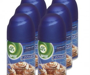 Imagine your home constantly smelling like a Cinnabon store!
