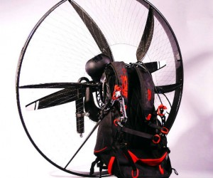 SCOUT Paramotor is the world's first carbon fiber backpack aircraft… Ever wanted to fly?  Well here's your chance!