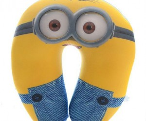 Despicable Me Minions Neck Pillow – There's nothing like the comforting support of a loyal minion.