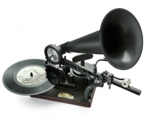 Ever wanted to build your own gramophone? Well now here's your chance!