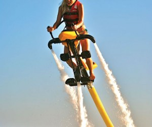 Hydro Powered Jetovator – Flies up to 25 feet in the air using the awesome power of water jets.