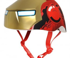 Your little iron boy needs to protect his noggin if he wants to grow up to be a hero!